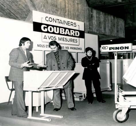 Historique de l 39 entreprise goubard fabricant de benne for Salon de la manutention