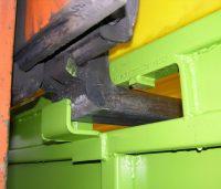 Blocage sur fourches par cage à talon – Brevet déposé