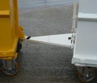 Option timon attelage triangulé en latéral
