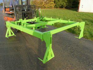 Palonnier hydraulique pour treillis soudés