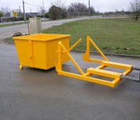 Contrôler la capacité de charge du chariot pour le vidage