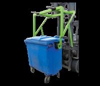 Palonnier spécial poubelle plastique