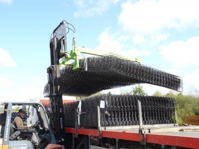 Nouveau palonnier hydraulique pour treillis